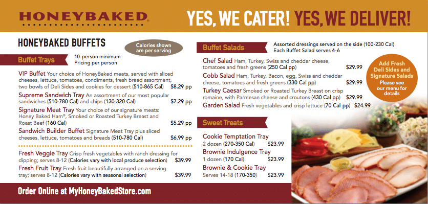 HONEYBAKED HAM CATERING MENU pdf 2