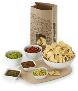 chipotl catering chips and salsa