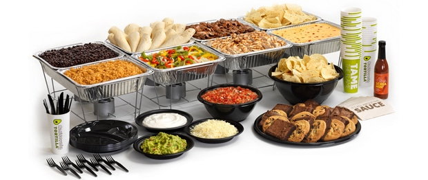 mexican catering menu