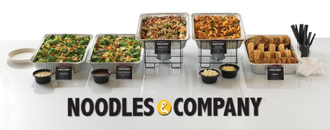 noodles and company catering menu prices
