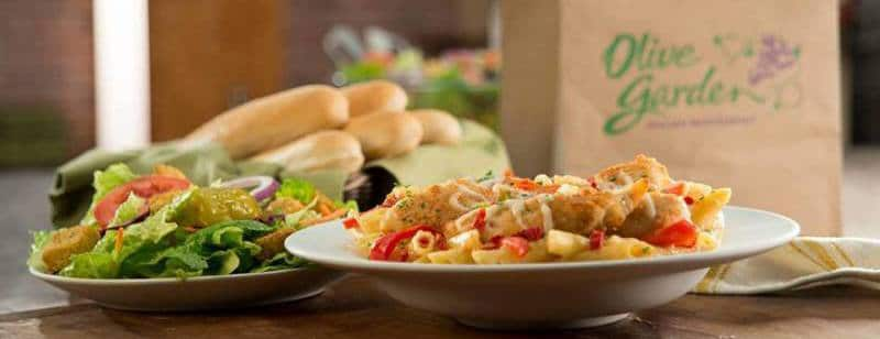 olive garden catering menu prices