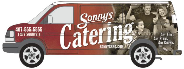 sonnys catering menu prices