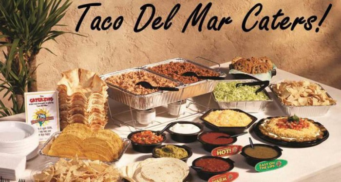 taco del mar catering menu prices