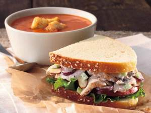 Healthiest Fast Food Establishments in the US panera bread catering