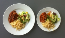 Simple Tips to Eat Healthy use smaller plates