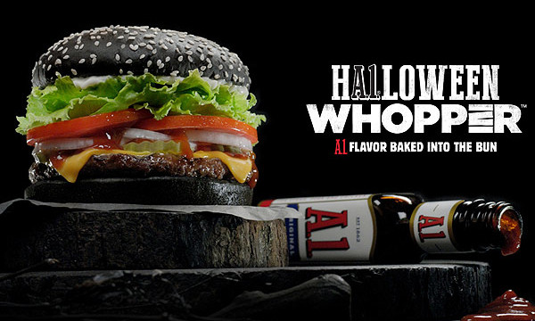 Get the Scare of Your Life with Burger King's Halloween Whopper