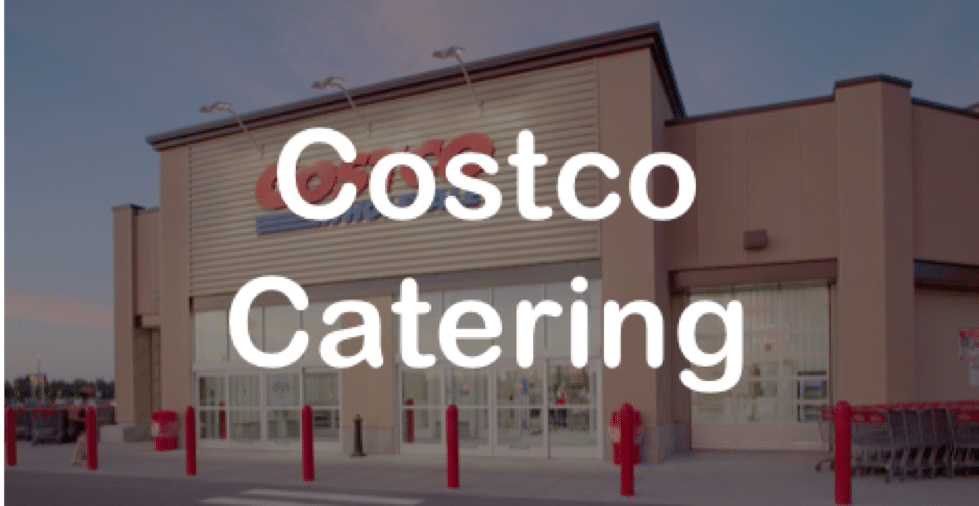 Costco Party Food Platters