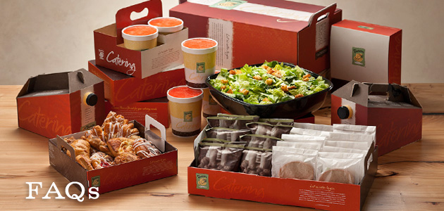 Panera Bread Coffee Box Fascinating PANERA CATERING MENU PRICES View Panera Bread Catering Menu