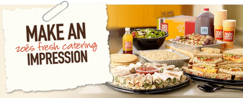 What Is Zoes Kitchen Catering Menu