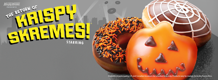 Go Trick Or Treating At Krispy Kreme With The New Monster
